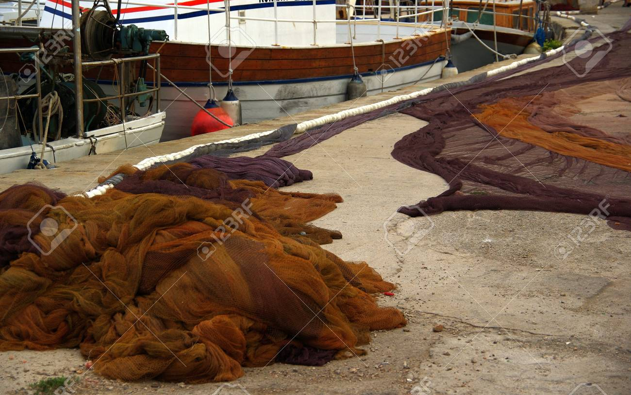 fishing net Stock Photo - 3110395