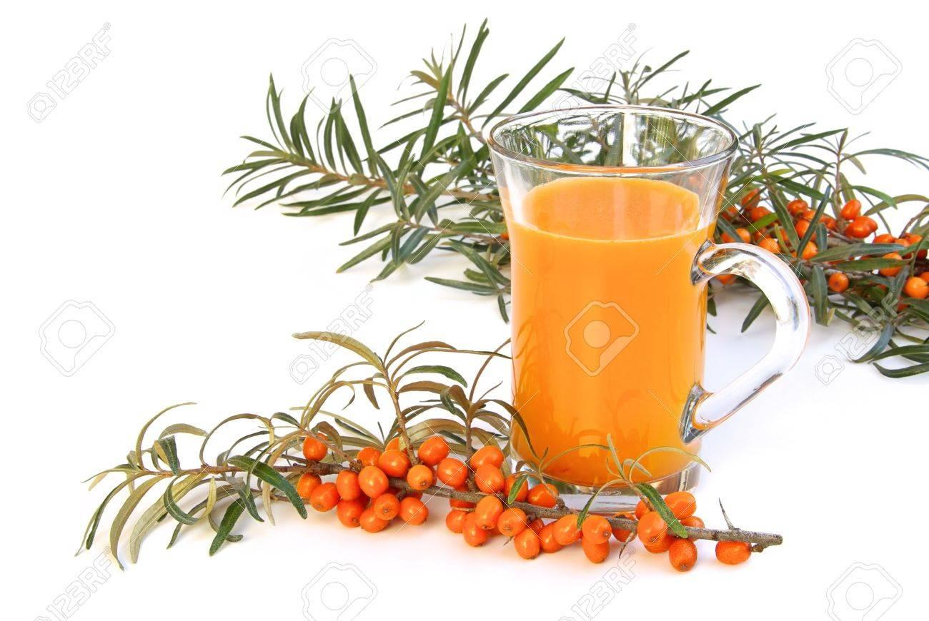 sallow thorn juice 04 Stock Photo - 3569894