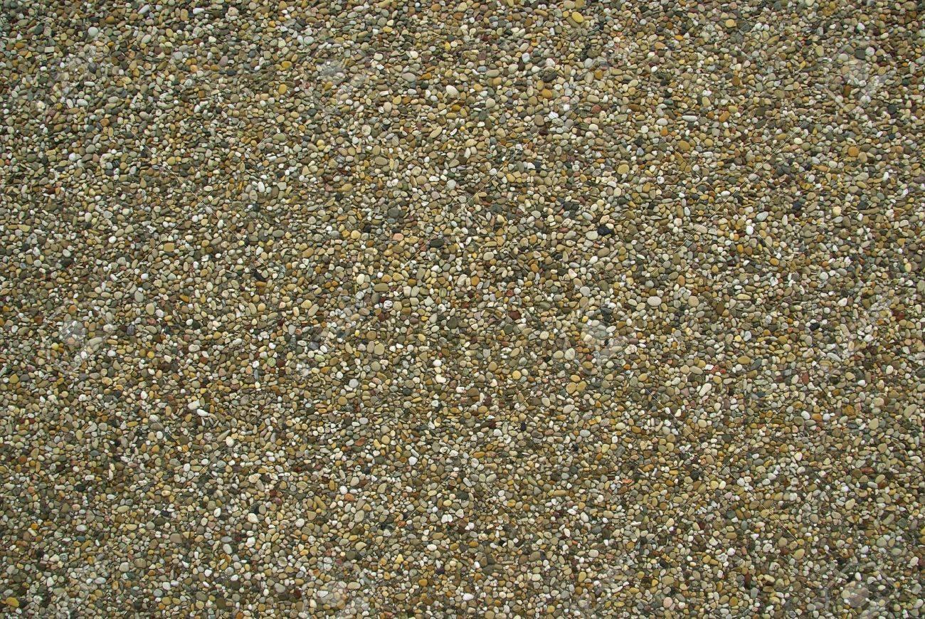 exposed aggregate concrete Stock Photo - 3769889