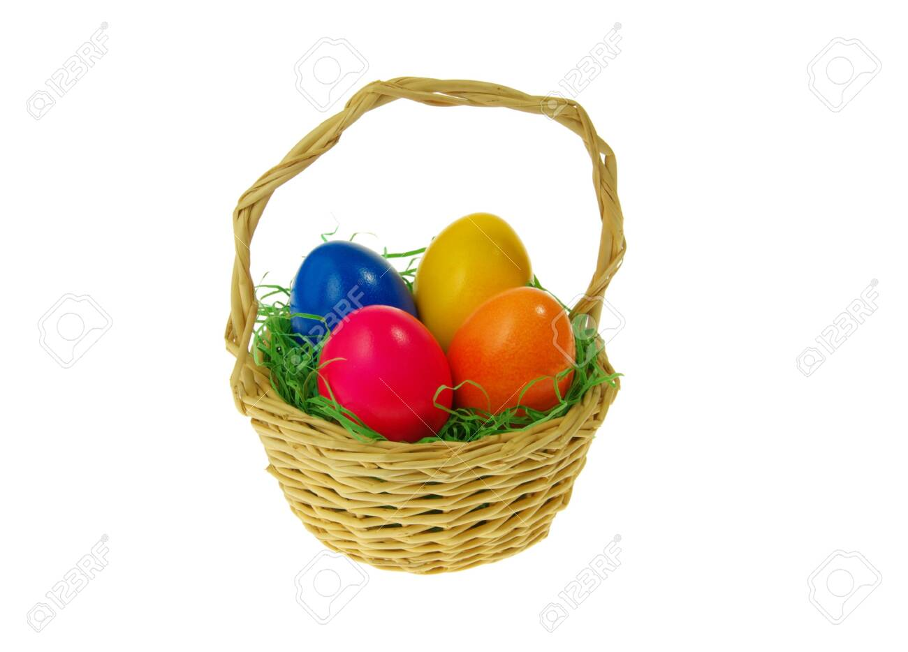 easter basket 14 Stock Photo - 4526379