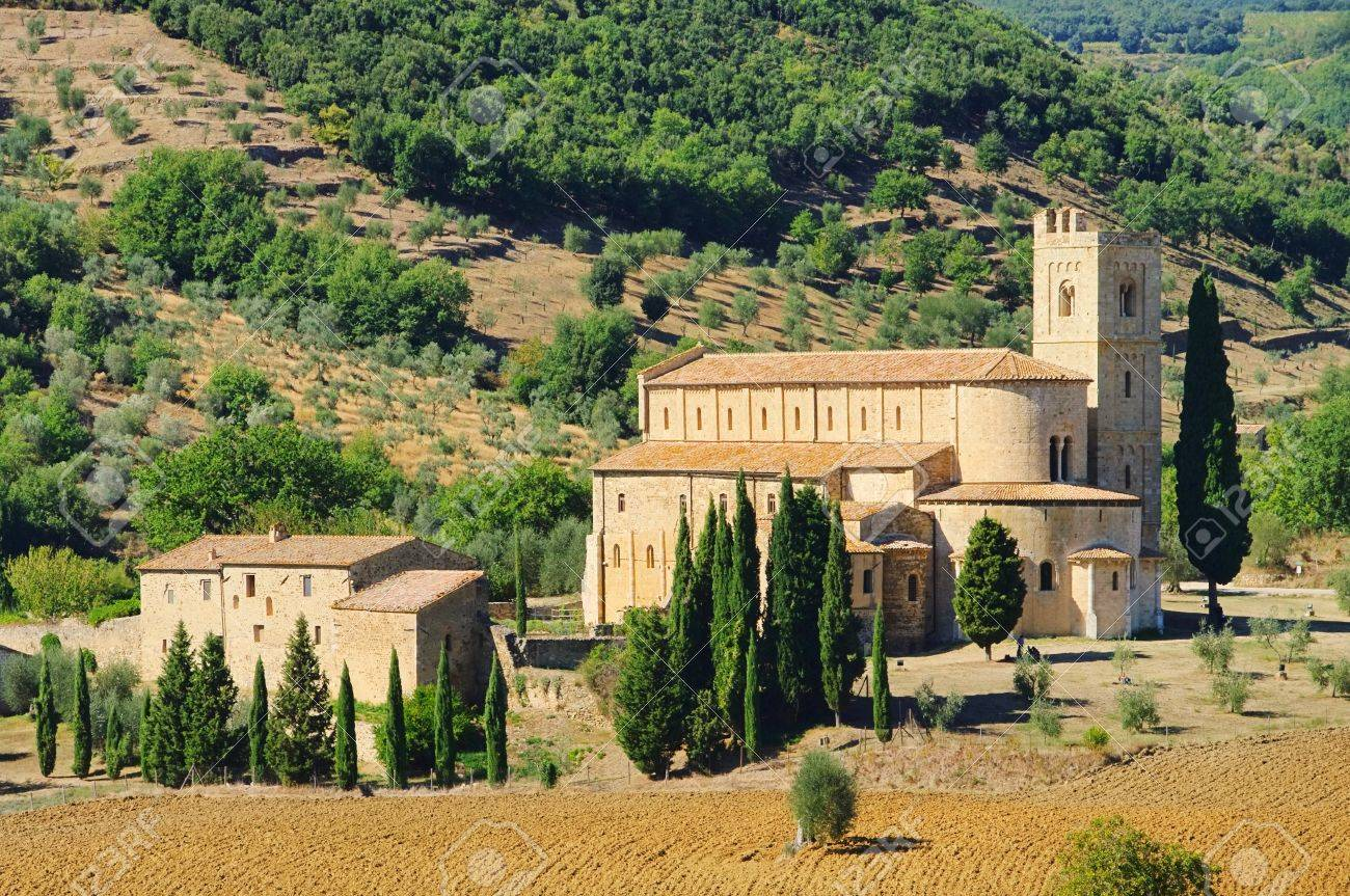 Sant Antimo Stock Photo - 12837844