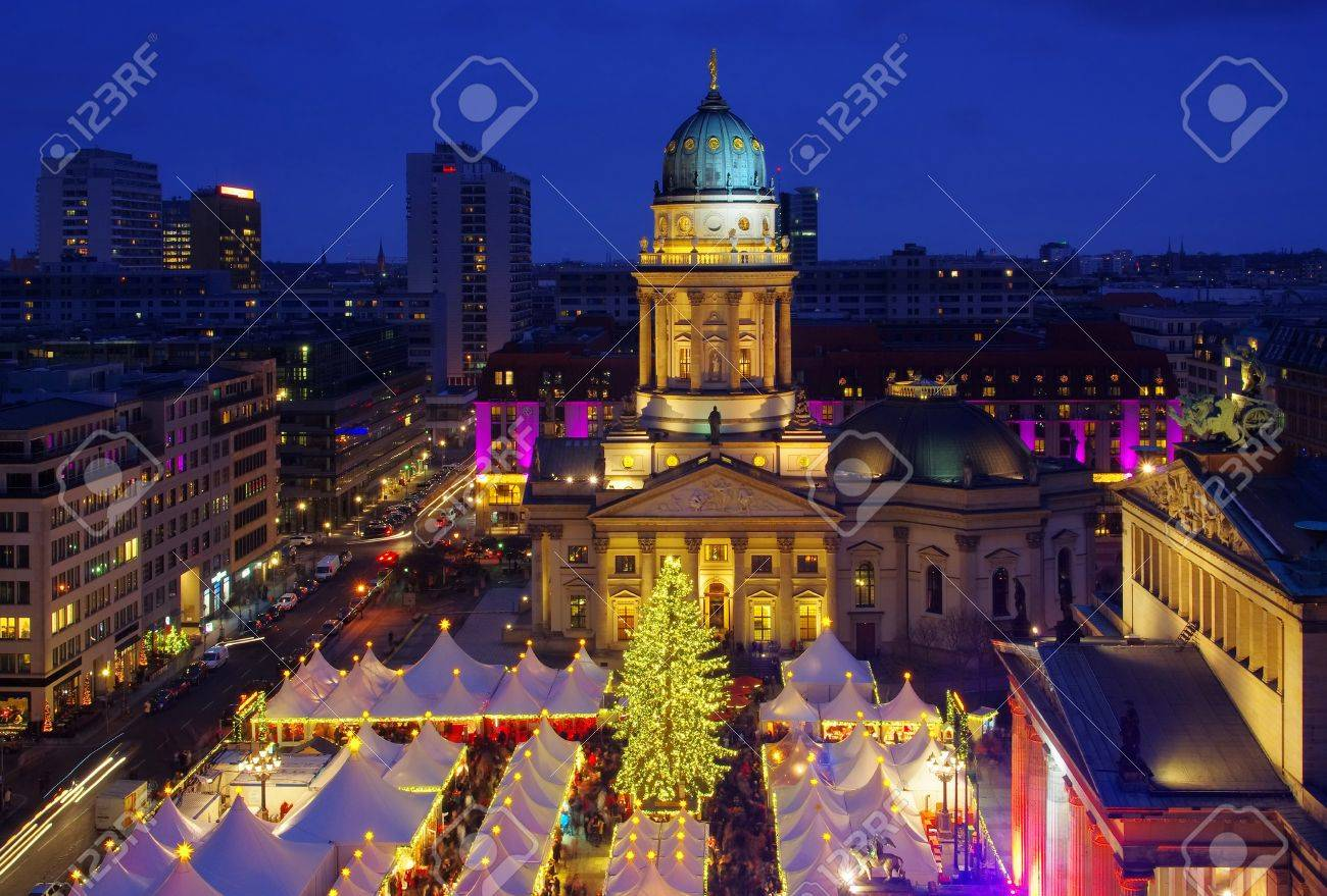 Berlin Christmas Market.Berlin Christmas Market Gendarmenmarkt