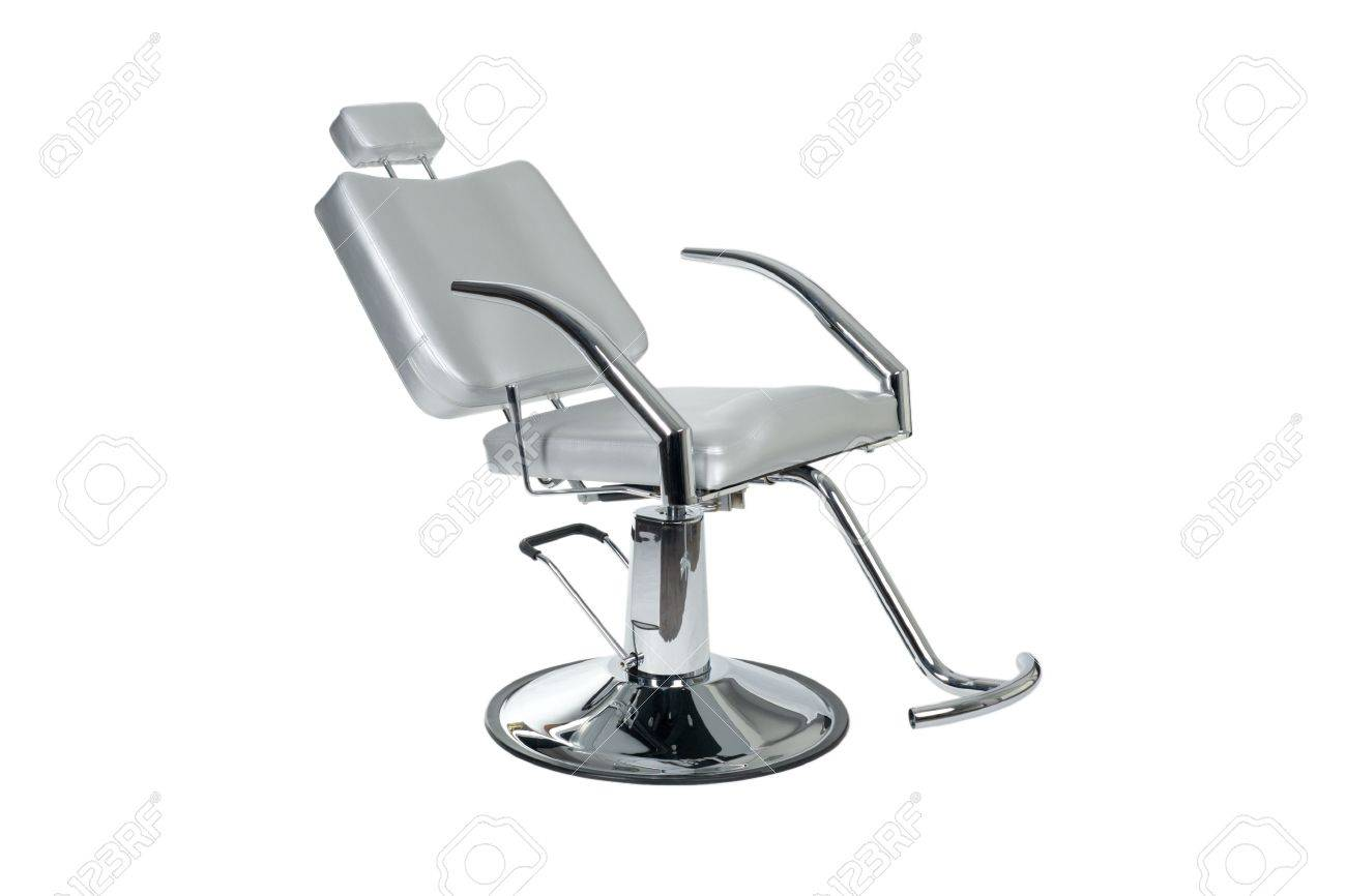 Make Up Stoel : Special make up artiest stoel geïsoleerd op wit royalty vrije