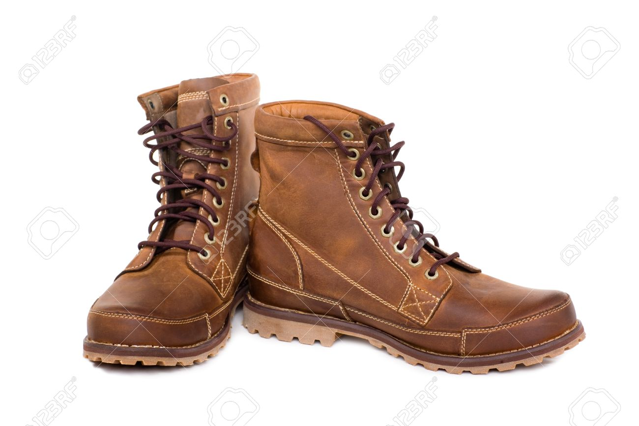 Stylish Men's Winter Boots. Modern Design. Stock Photo, Picture ...