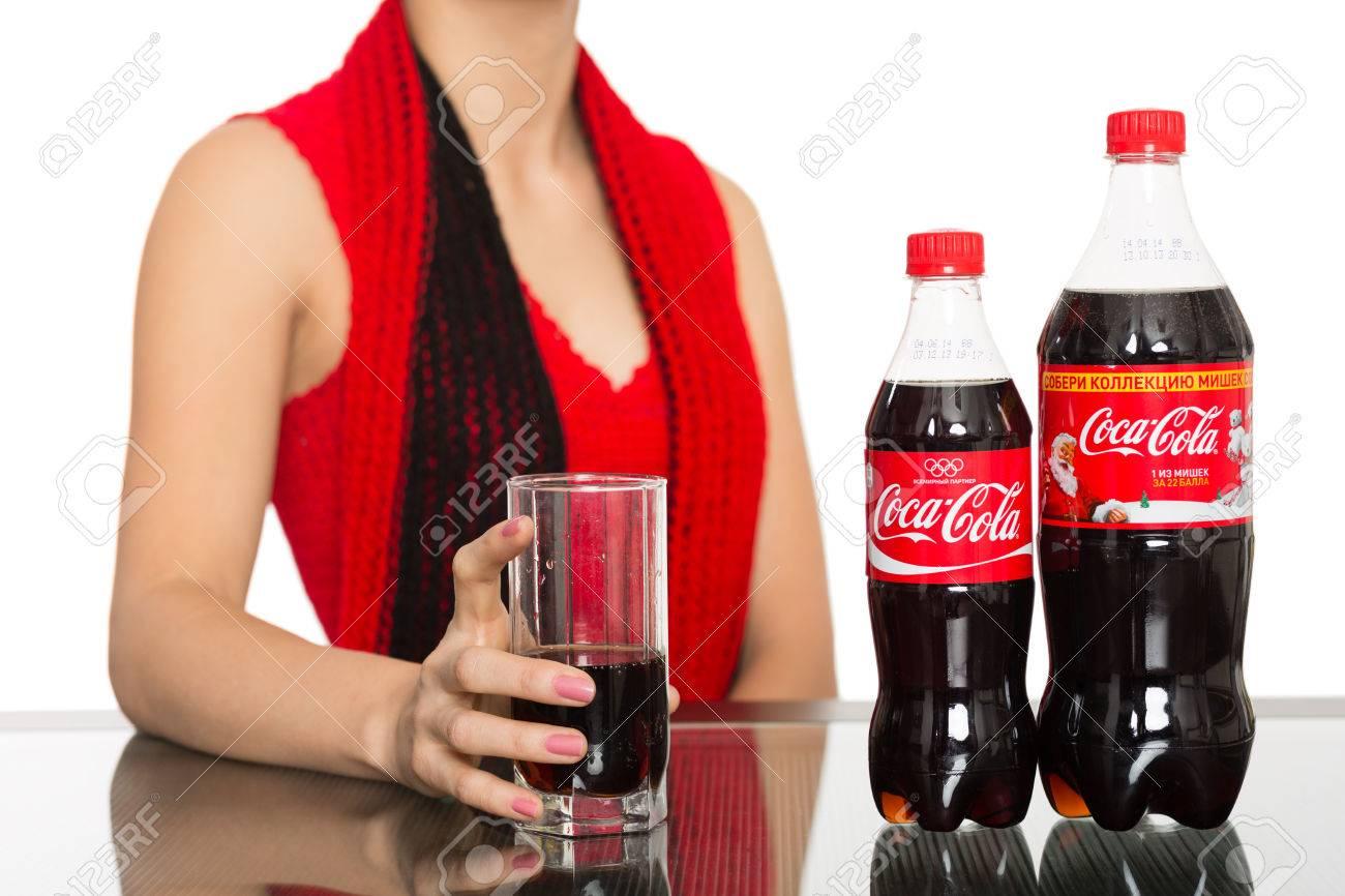 Russian Girl Drinks Bottles