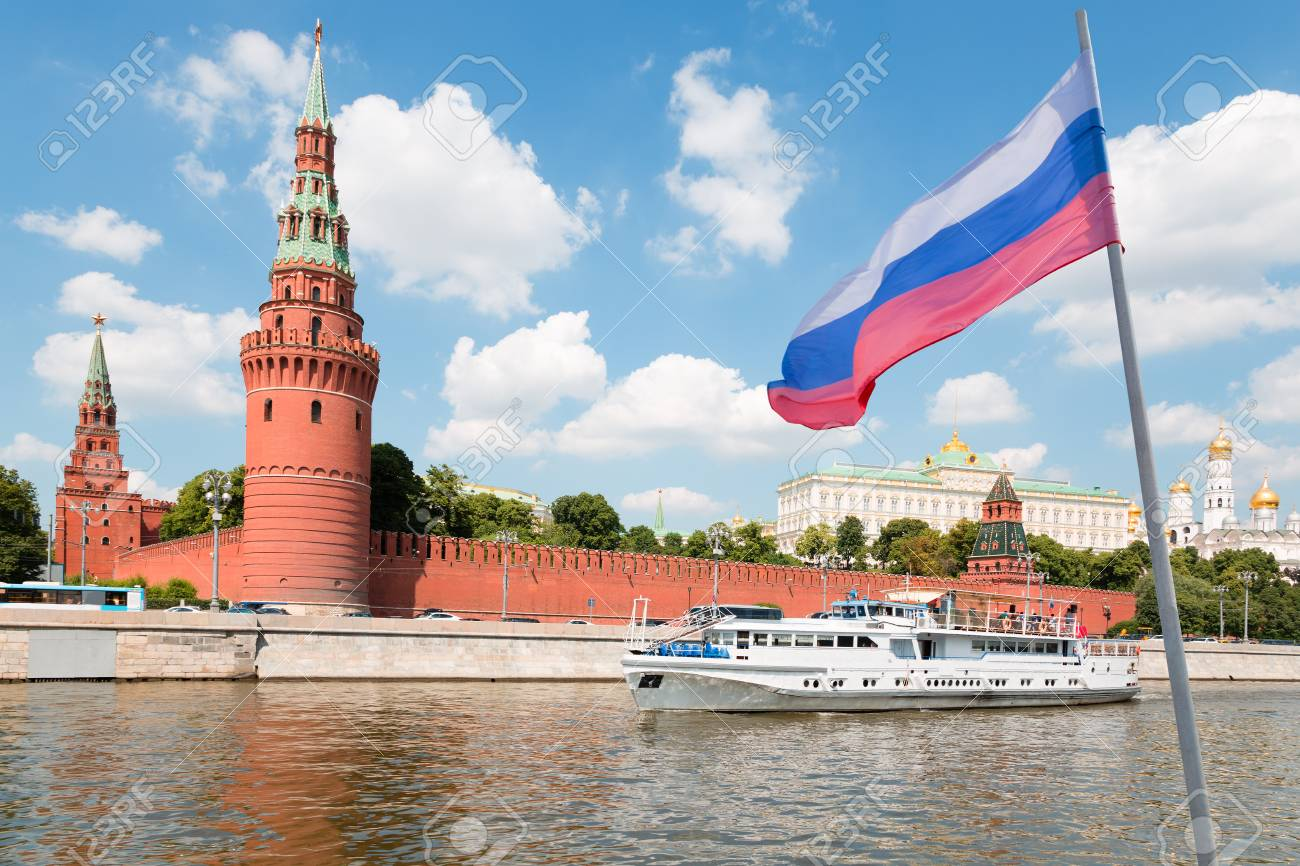 67312307-russian-flag-on-the-background-