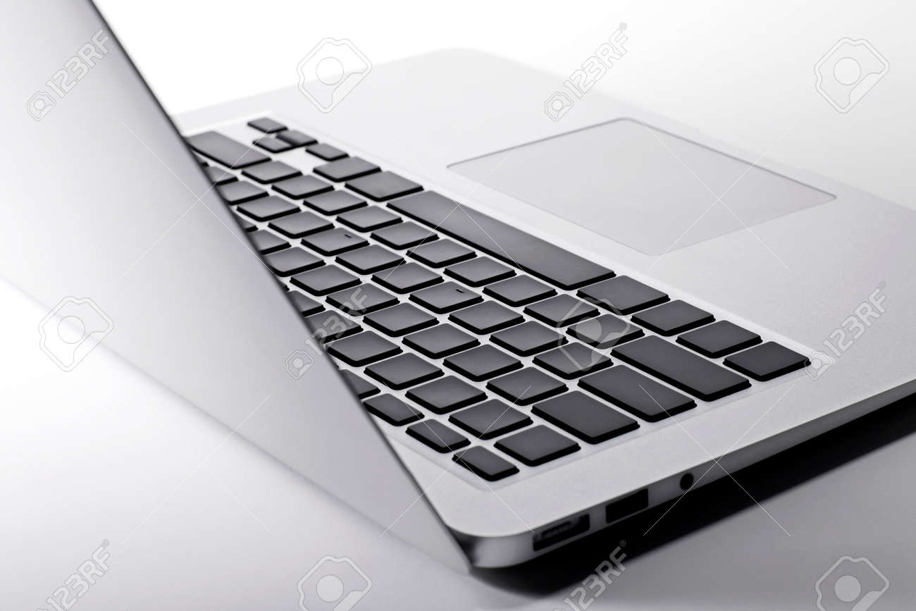 Closeup laptop keyboard - 151607405