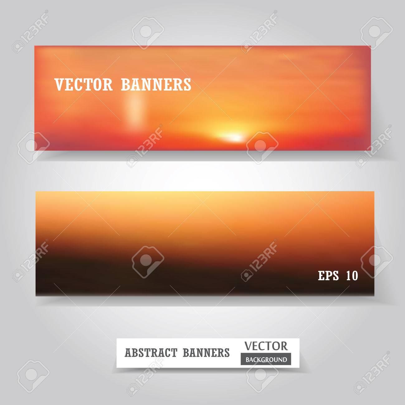 Vector Web Et Bannieres Mobiles Fixes Carte De Visite Ou Flyer