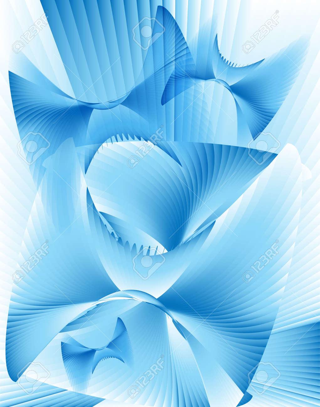 要旨の蝶フラクタルデジタル イラストグラデーション複数の