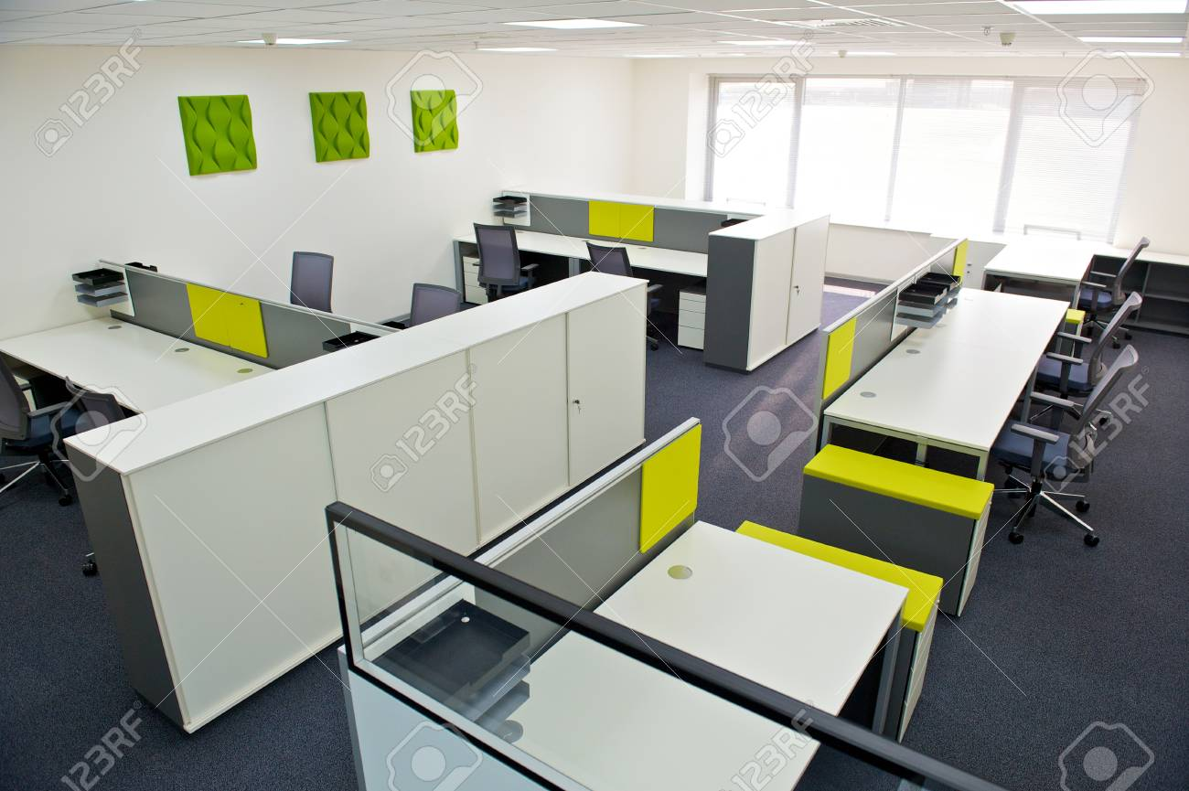 Ansprechend Büro Ideen Beste Wahl Neue Der Modernen Büro Inter. Standard-bild -
