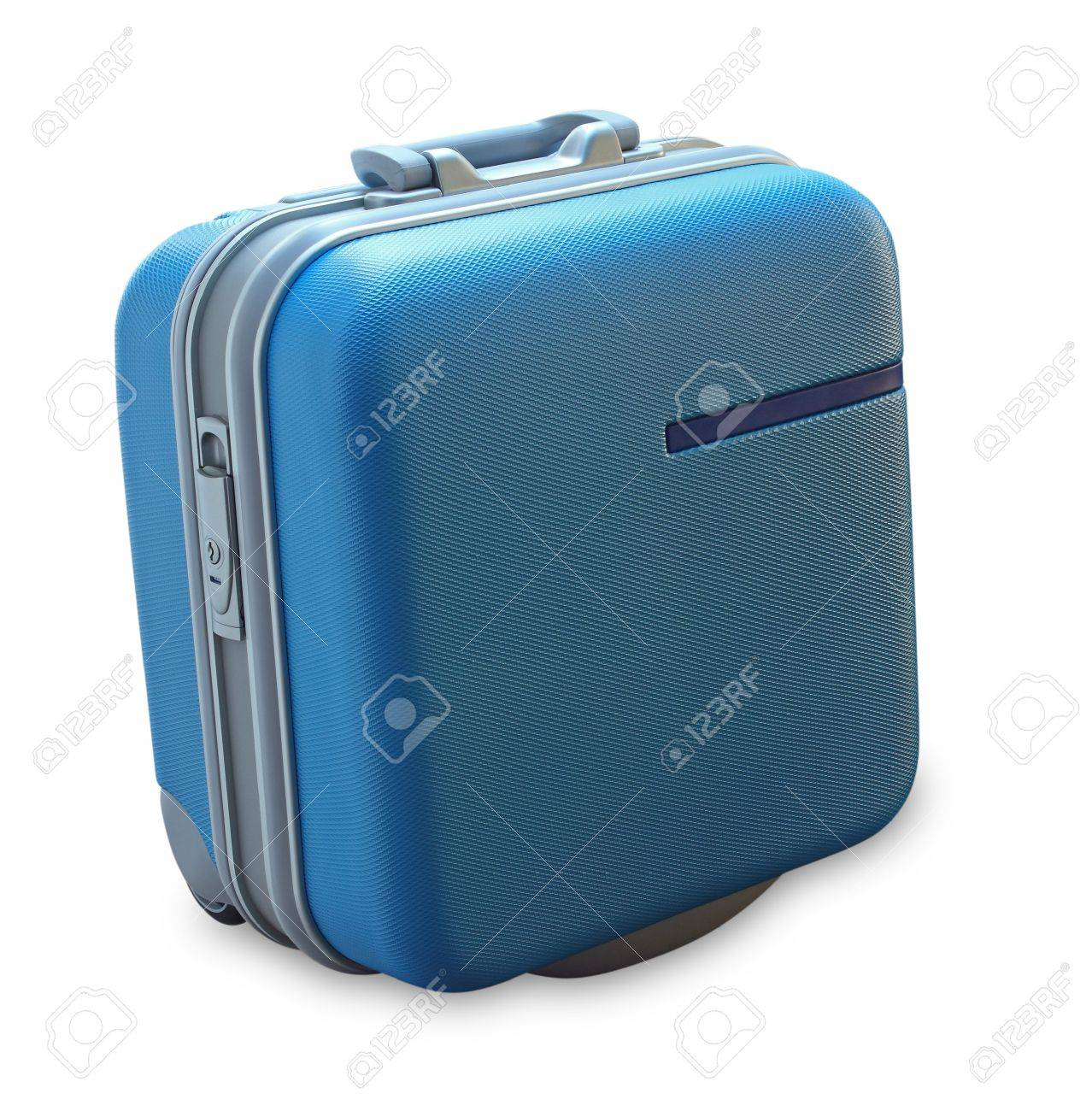 Suitcase isolated on a white background Stock Photo - 9391545