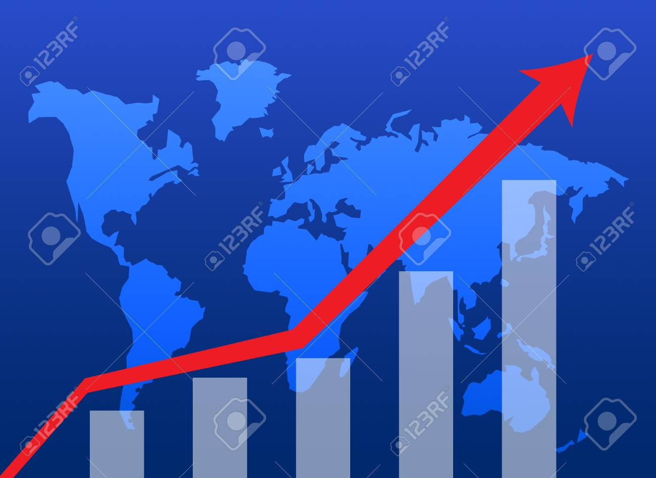 Business graph success chart data Stock Photo - 9743686