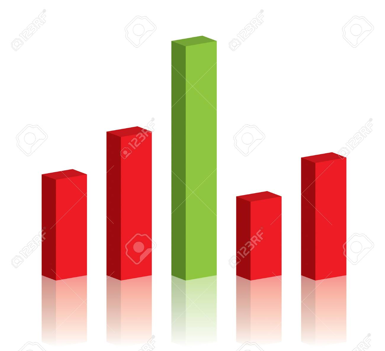 Business graph success chart data Stock Photo - 9743673