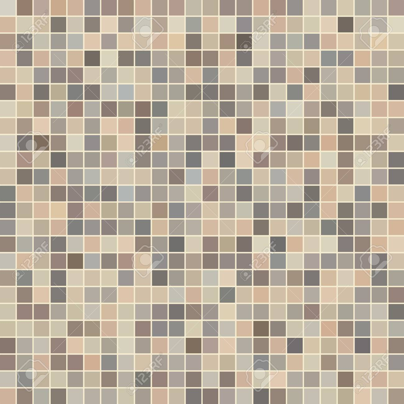 Brown Ceramic Tile Mosaic In Swimming Pool Royalty Free Cliparts ...