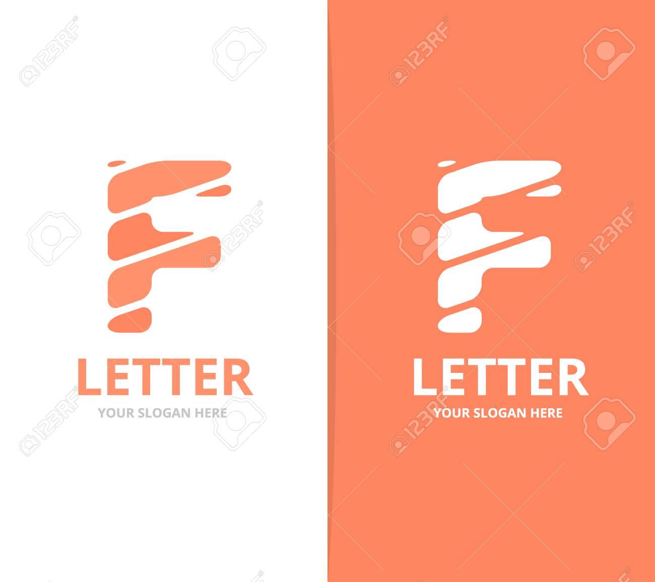 Unique vector letter f logo design template royalty free cliparts unique vector letter f logo design template stock vector 86191145 maxwellsz
