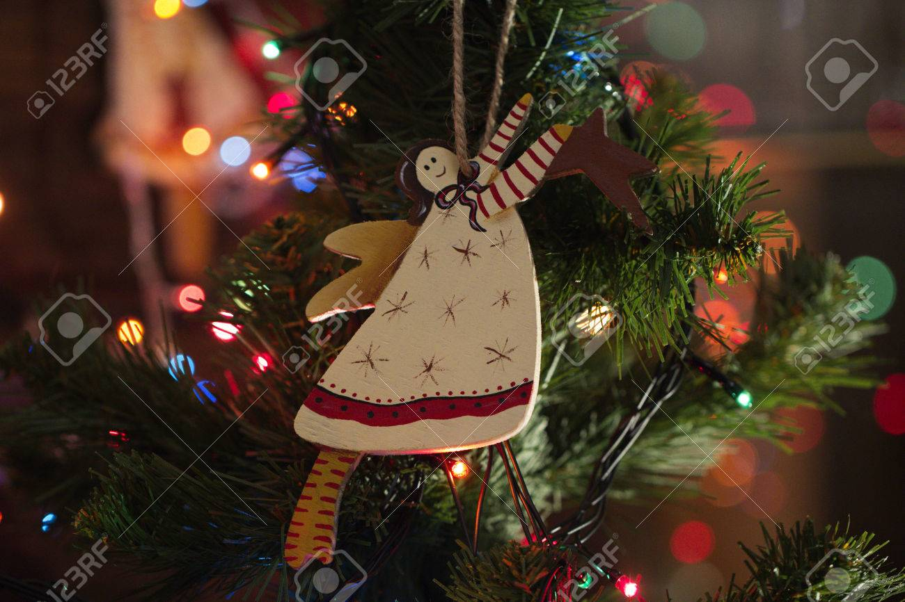 Christmas Decoration Handmade Toy Angel Christmas Tree Toys Stock Photo Picture And Royalty Free Image Image 66807642
