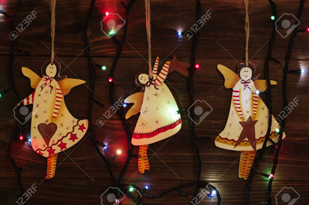 Juguetes De Arbol De Navidad Angel Decoracion Navidena Juguete - Arbol-de-navidad-artesanal