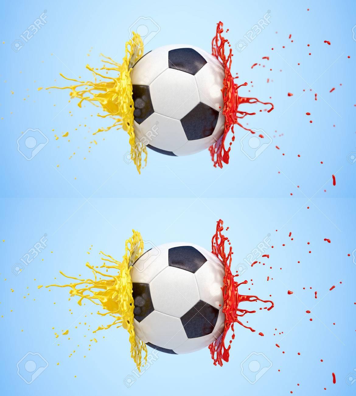 Resultado de imagen para pinturas futbol