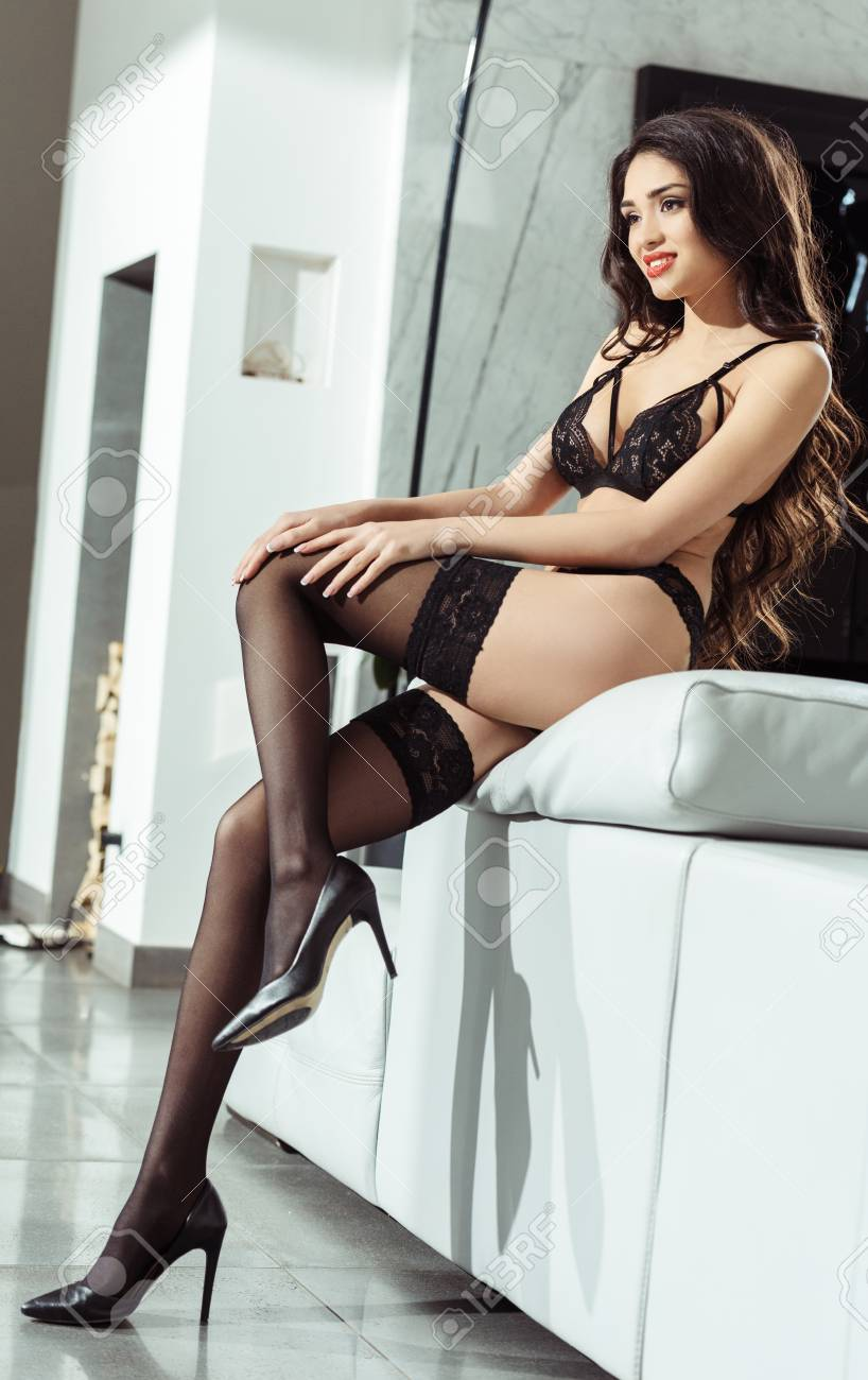 Sexy lingerie and stockings