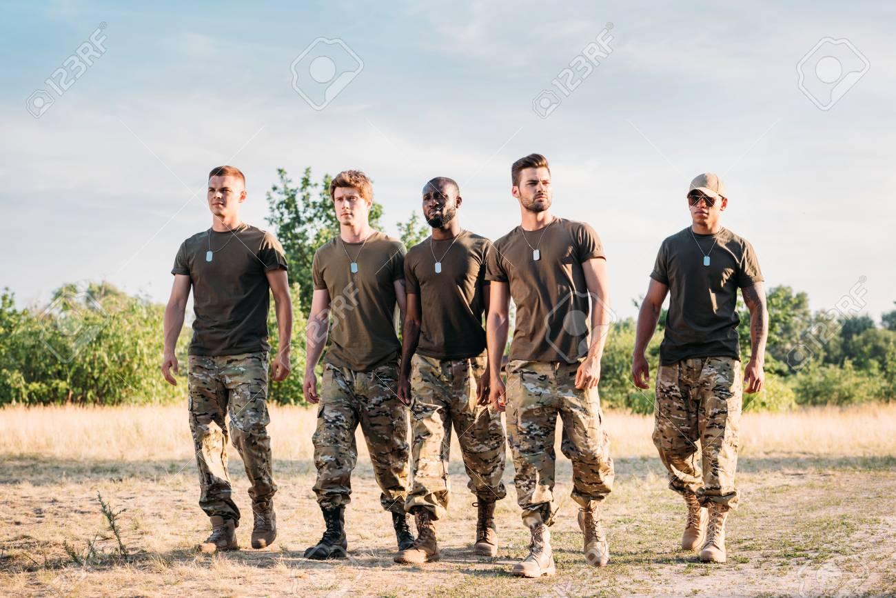 Interracial army