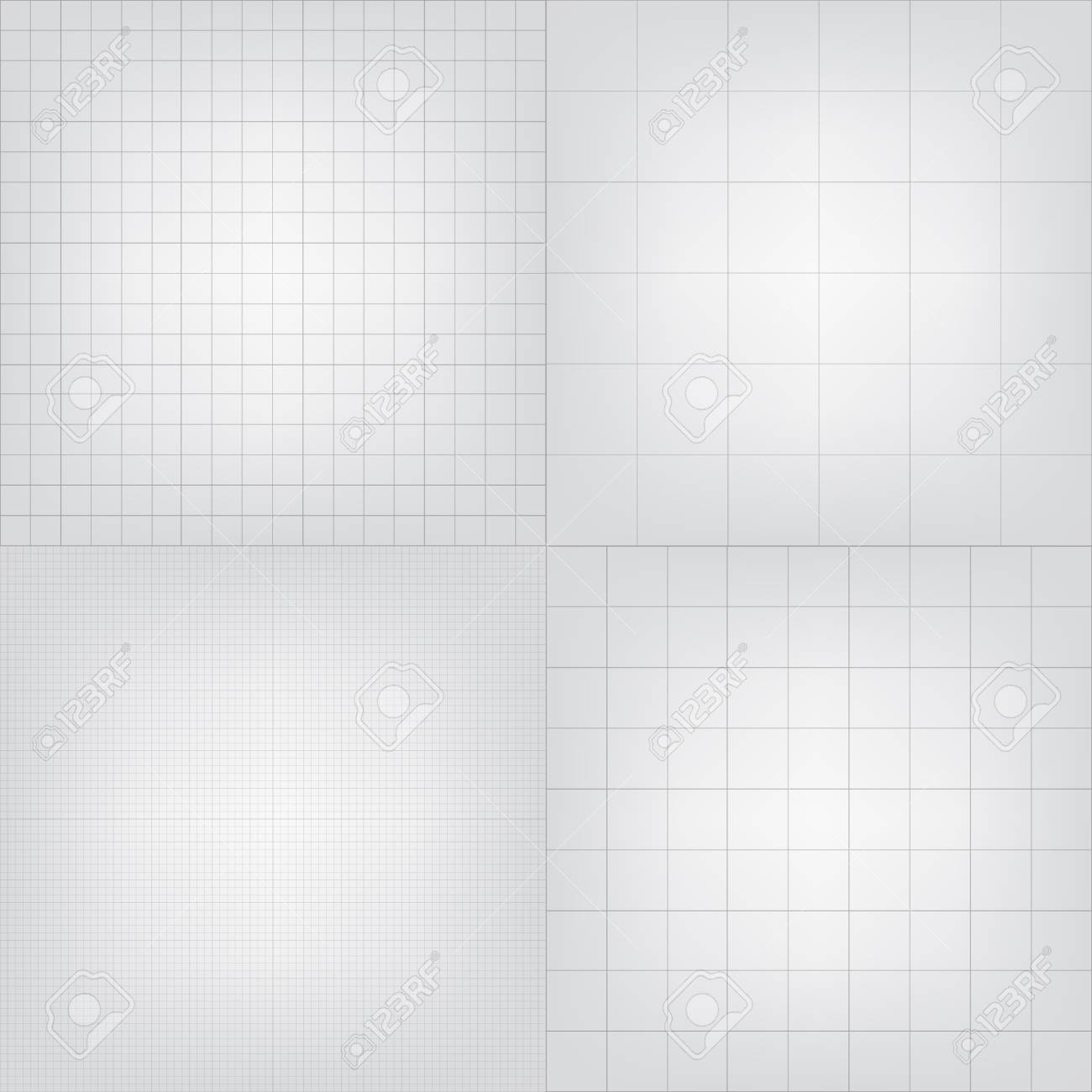 Set of blueprint graphing paper grid background vector eps10 set of blueprint graphing paper grid background vector eps10 format in different line styles stock malvernweather Choice Image