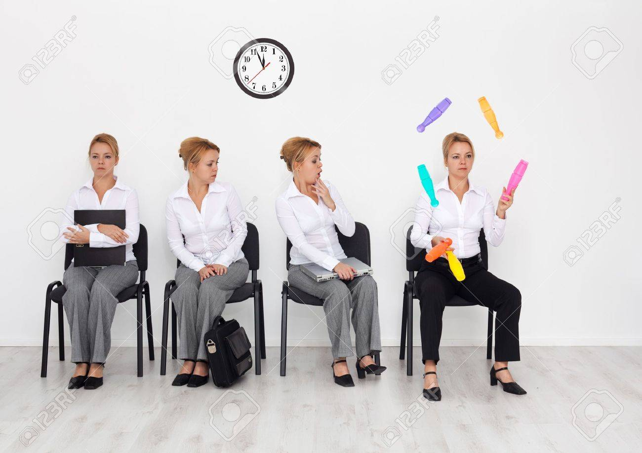 employees special skills wanted concept job interview employees special skills wanted concept job interview candidates waiting stock photo 11157176