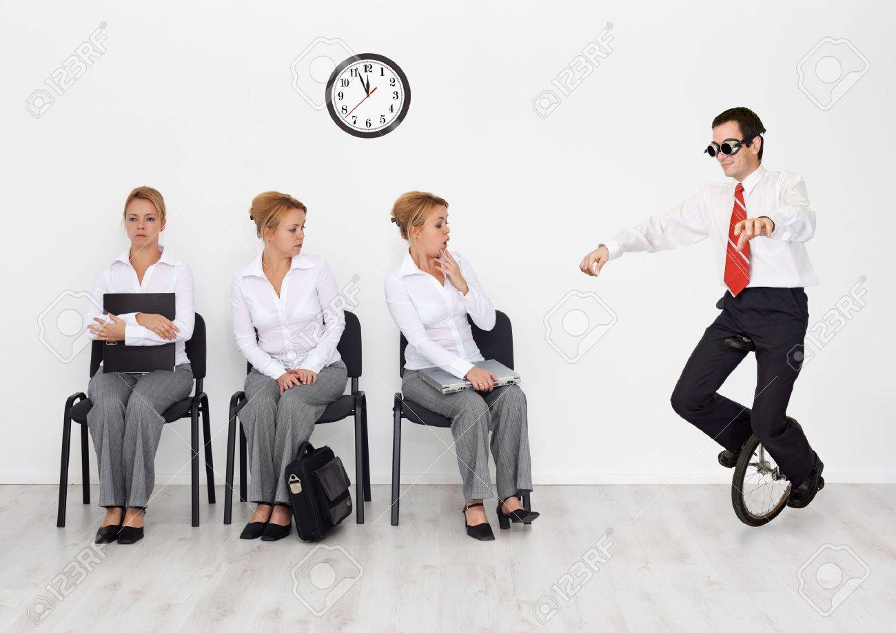 employees special skills wanted concept man monocycle employees special skills wanted concept man monocycle stock photo 11533210