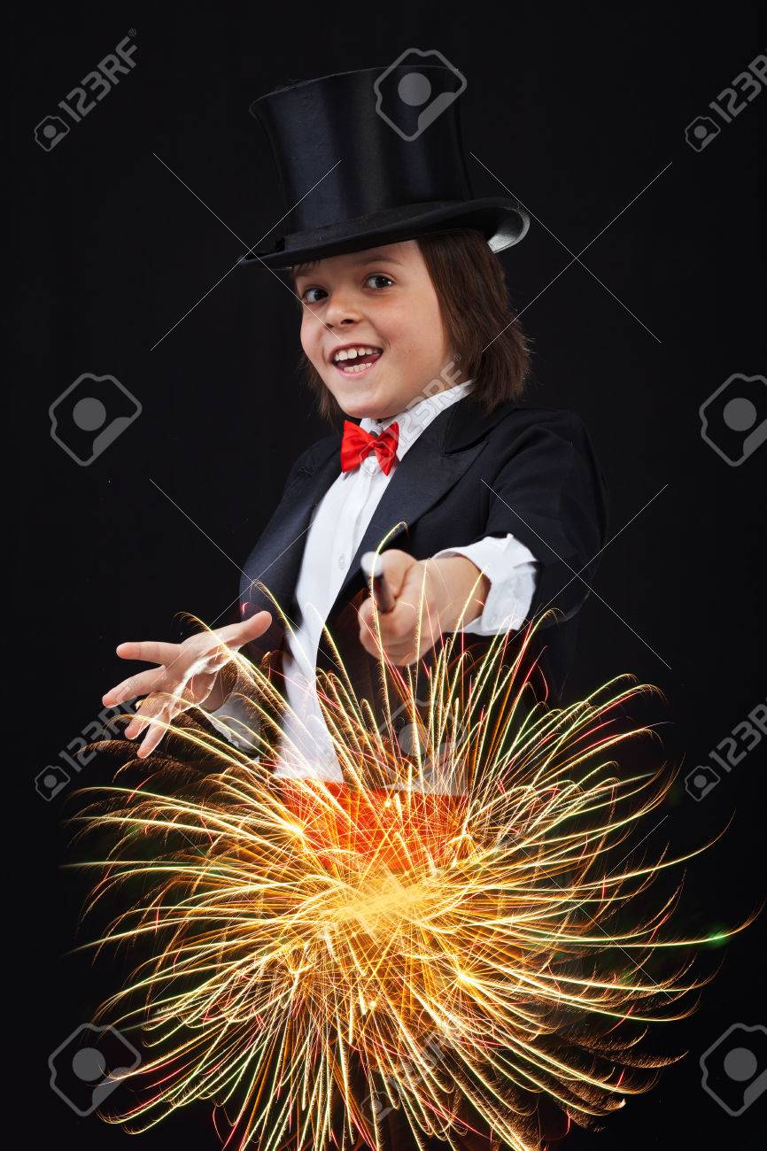 Magic wand for young magicians - a small master class 12