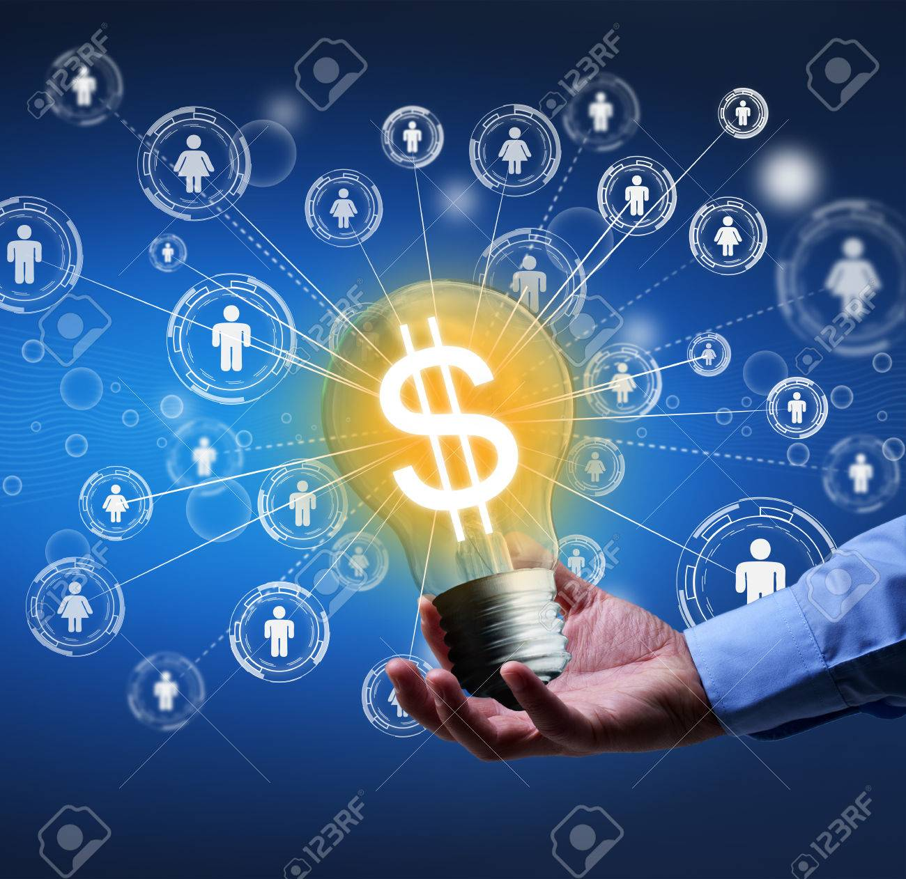 Presenting a new idea - crowdfunding or community funding concept - 37347012