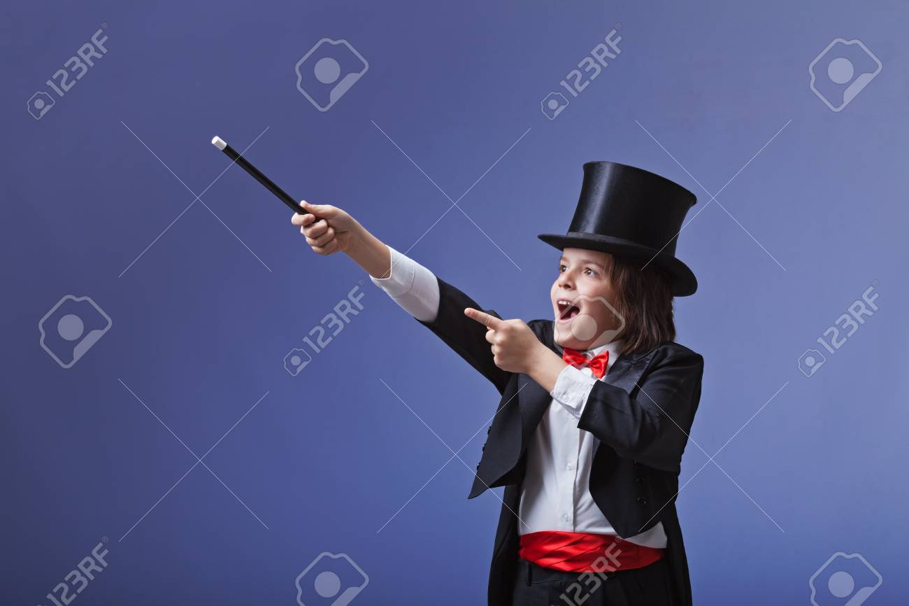 Magic wand for young magicians - a small master class 96