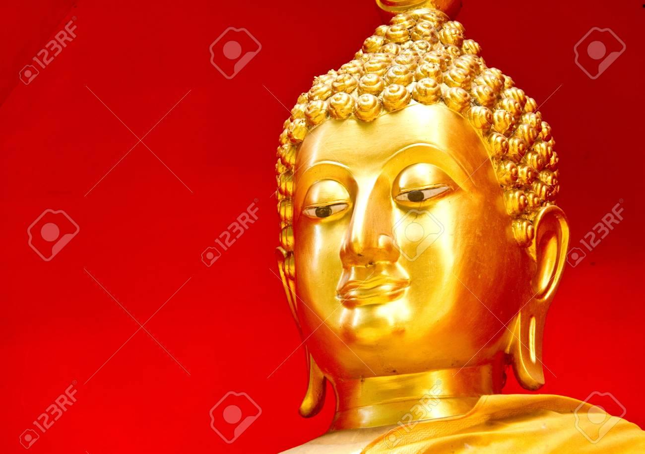 Gloden buddha chaingmai Thailand Stock Photo - 15050185
