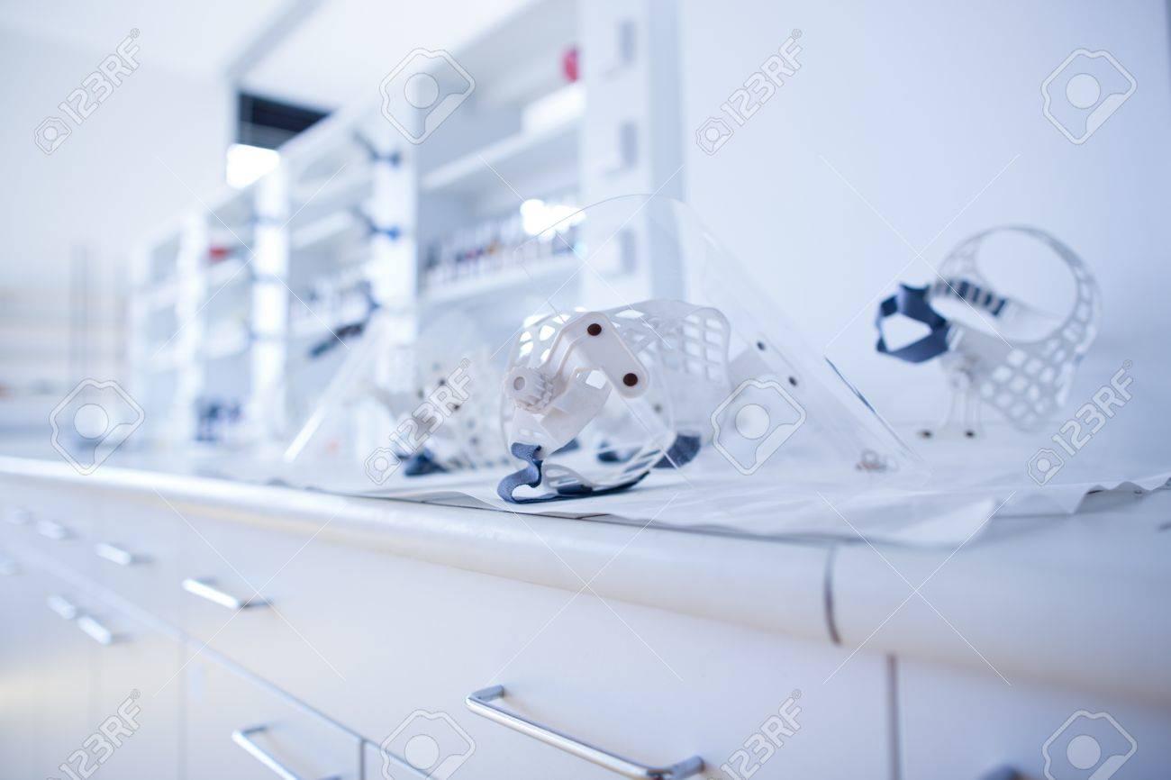 chemistry lab (shallow DOF) Stock Photo - 10895209