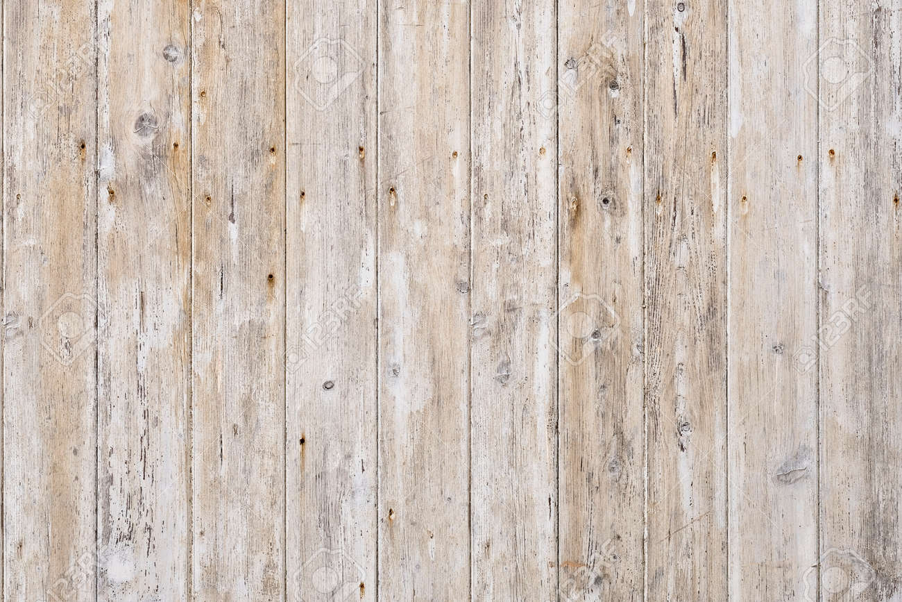Vintage white rustic wood background texture. - 164896425