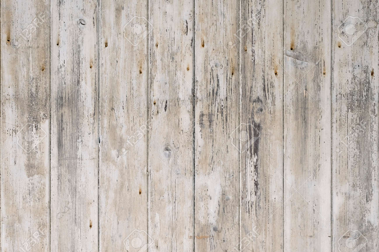 White rustic wood background. Vintage texture. - 165199439
