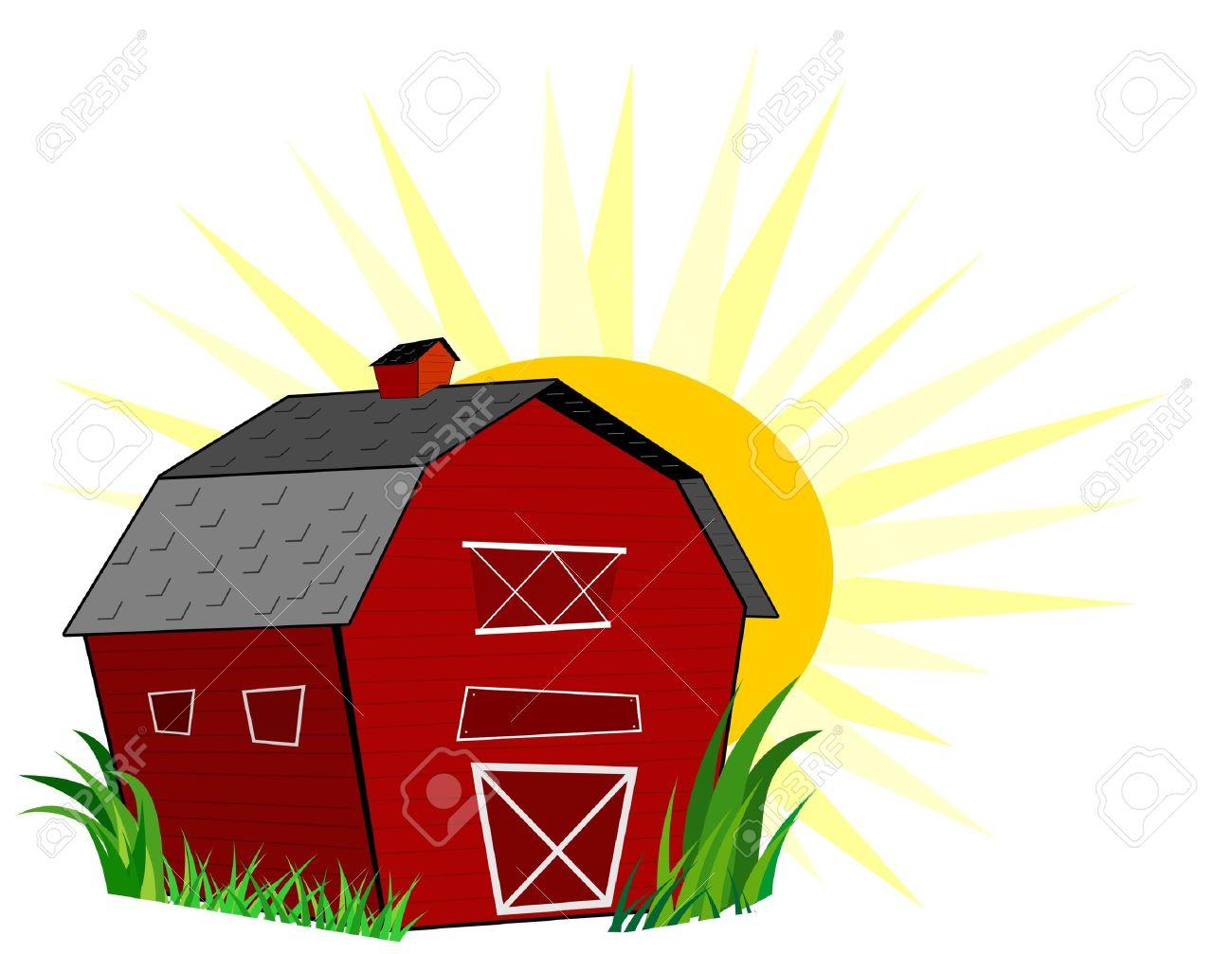 Barn Stock Vector - 11663838
