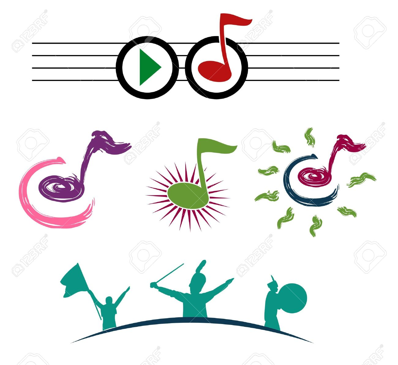 Music Notes Stock Vector - 12153312