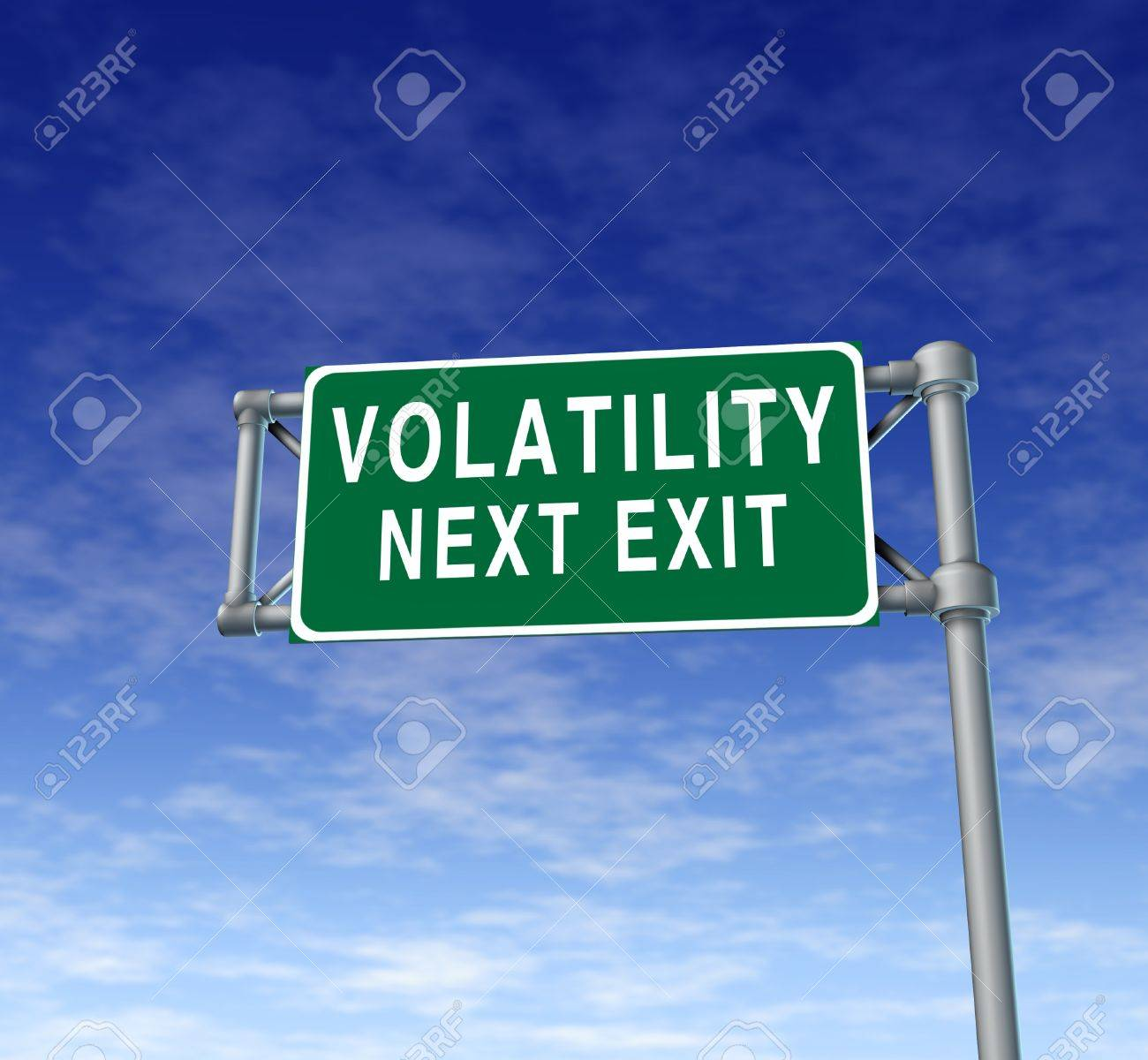 Dow stock symbol image collections symbols and meanings volatility in the stock market symbol represented by a green highway volatility in the stock market buycottarizona Gallery