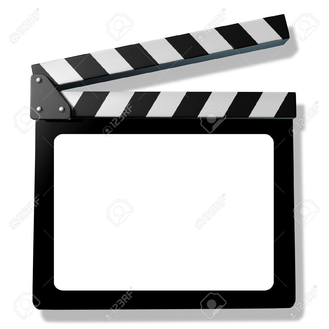 Blank Film Schiefer Oder Schindel Vertreten Film Und Kino ...
