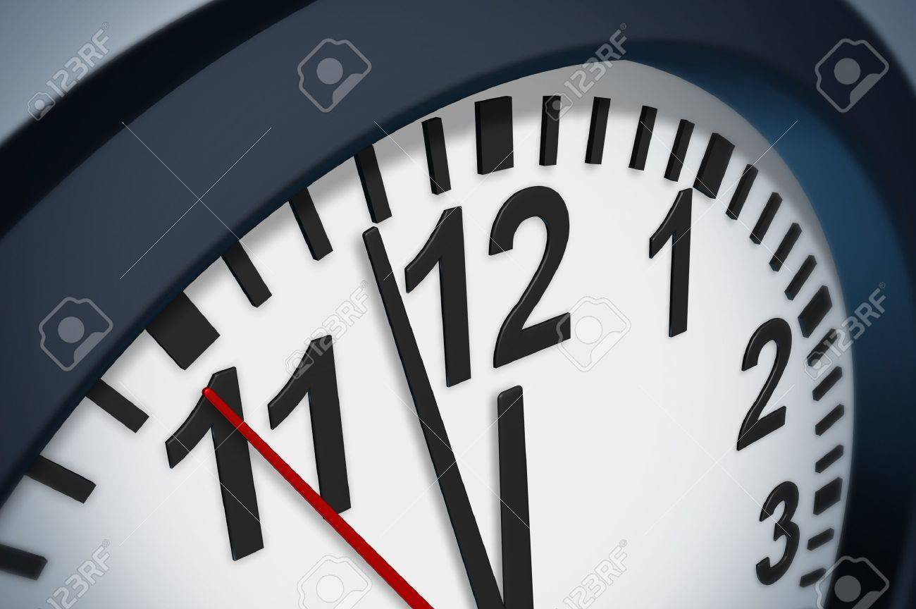 Beat The Clock Deadline Symbol With A Timer Representing The.. Stock ...