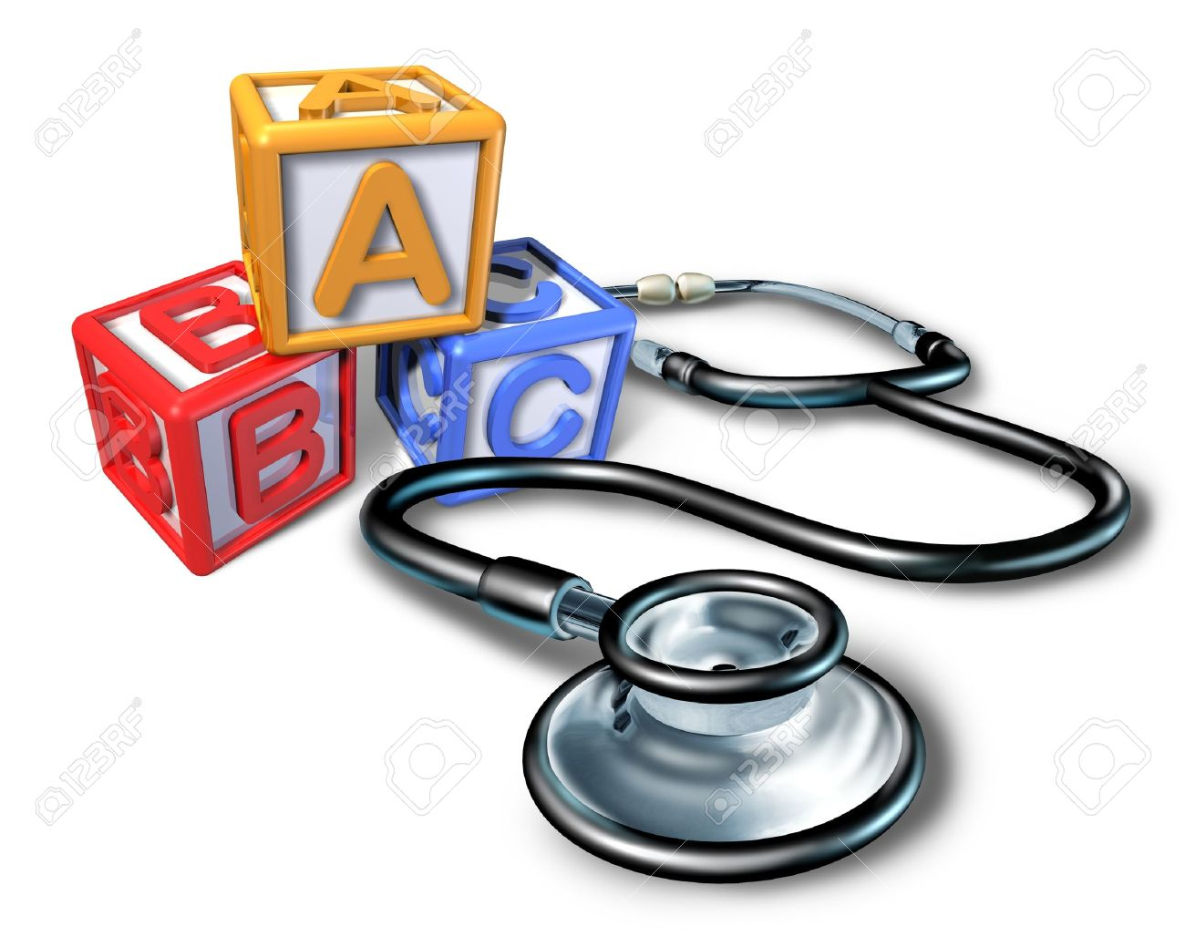 Pediatrics And Pediatrician Medical Symbol Representing Children Stock Photo Picture And Royalty Free Image Image 10609207
