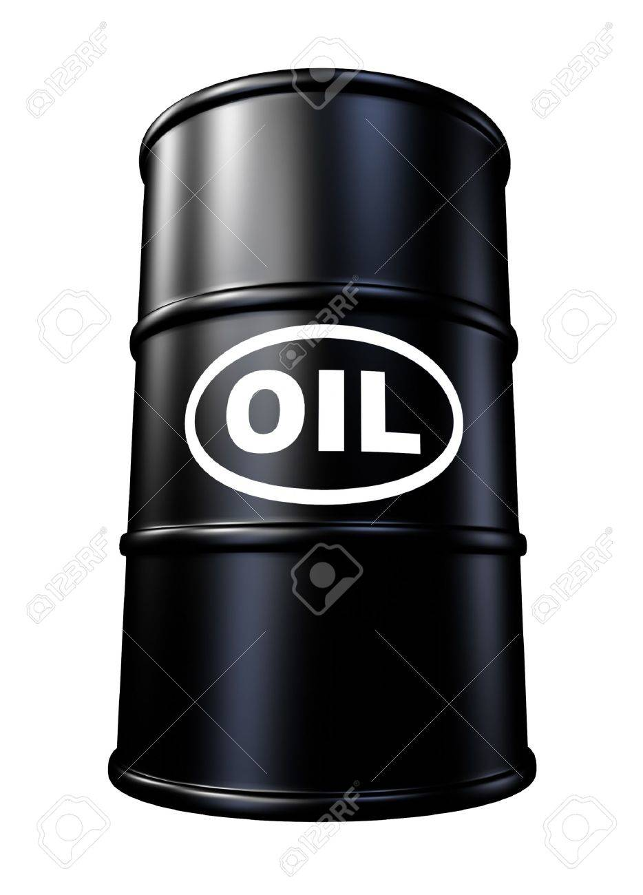 Oil barrels and drum containers representing the gasoline energy and fossil fuel industry. Stock Photo - 10945896