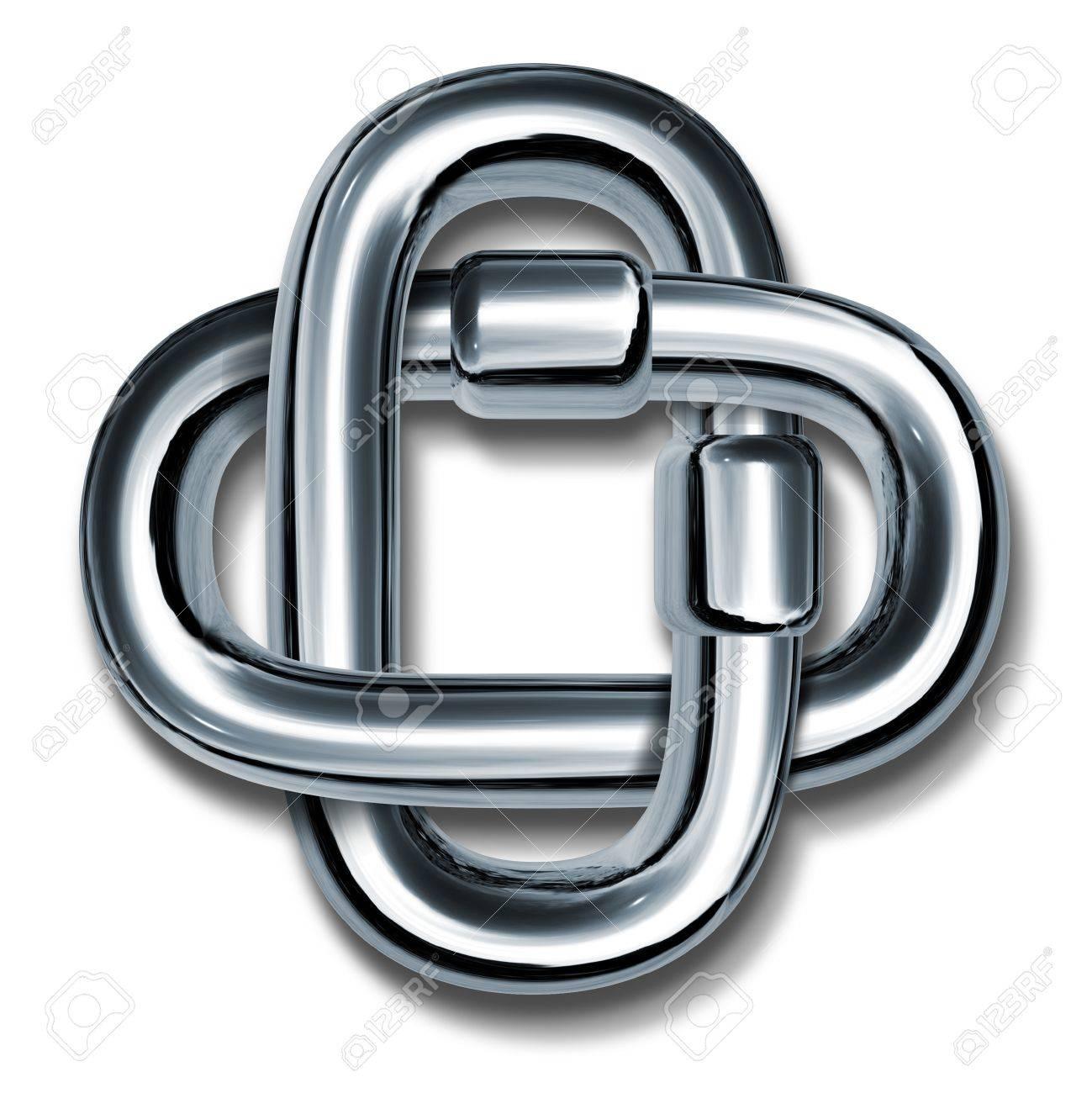 Metal chain links linked together to form a cross symbol metal chain links linked together to form a cross symbol representing unity strength and teamwork working buycottarizona
