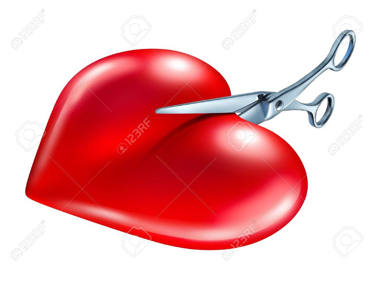 Breaking off and break up symbol of couple in crisis ending breaking off and break up symbol of couple in crisis ending a love relationship as a biocorpaavc Images