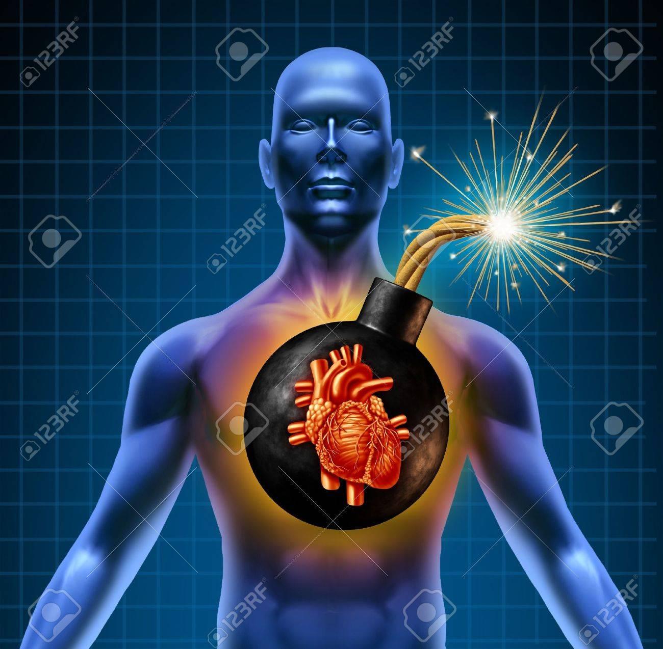 human heart bad diet
