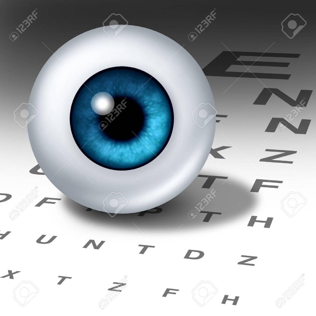 Vision Und Sehvermögen Für Gesunde Augen Mit Guten Augen-Fokus Mit ...