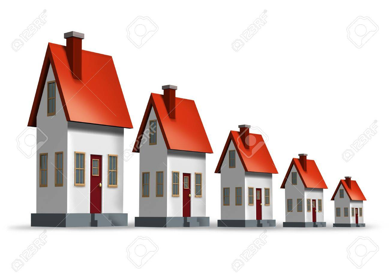 Housing market decline Stock Photo - 11935353