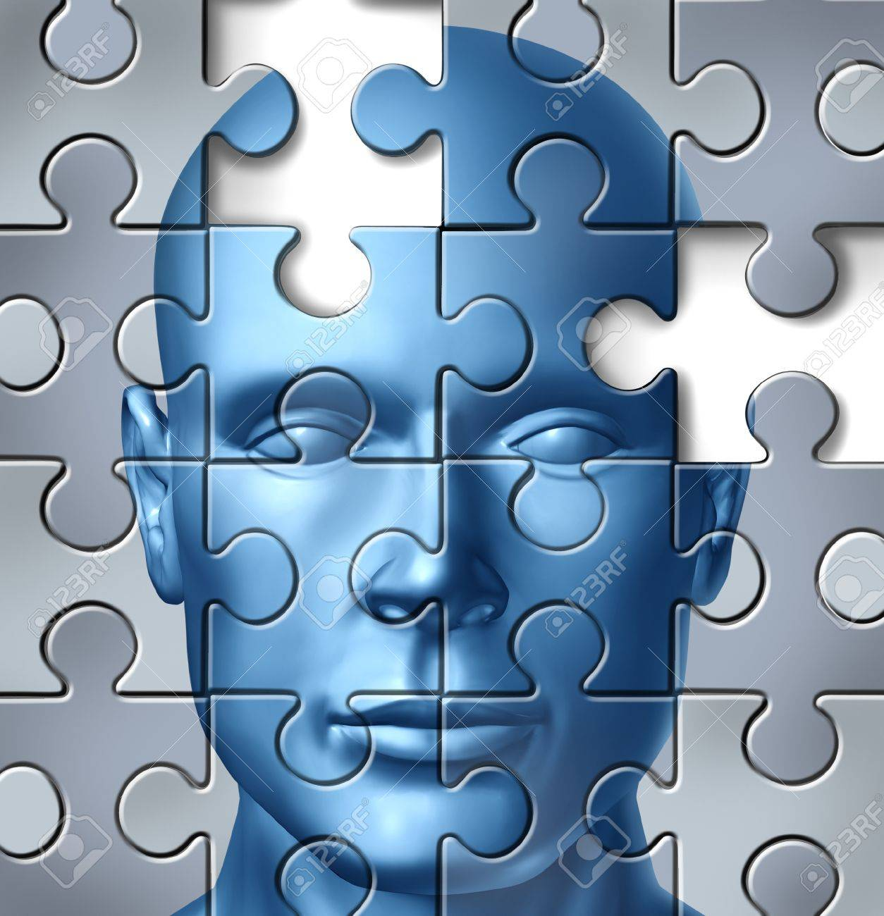 Human brain research and memory loss and alzheimer Stock Photo - 11935367