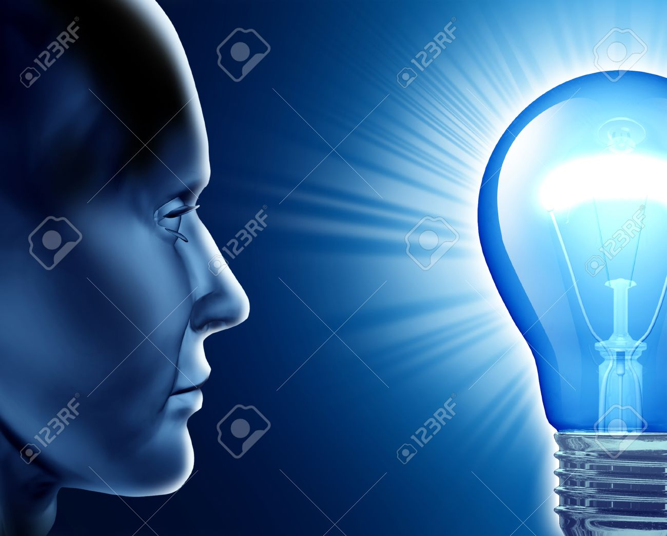Vision of success symbol representing the human brain and the vision of success symbol representing the human brain and the ideas from creative strength looking into biocorpaavc Choice Image