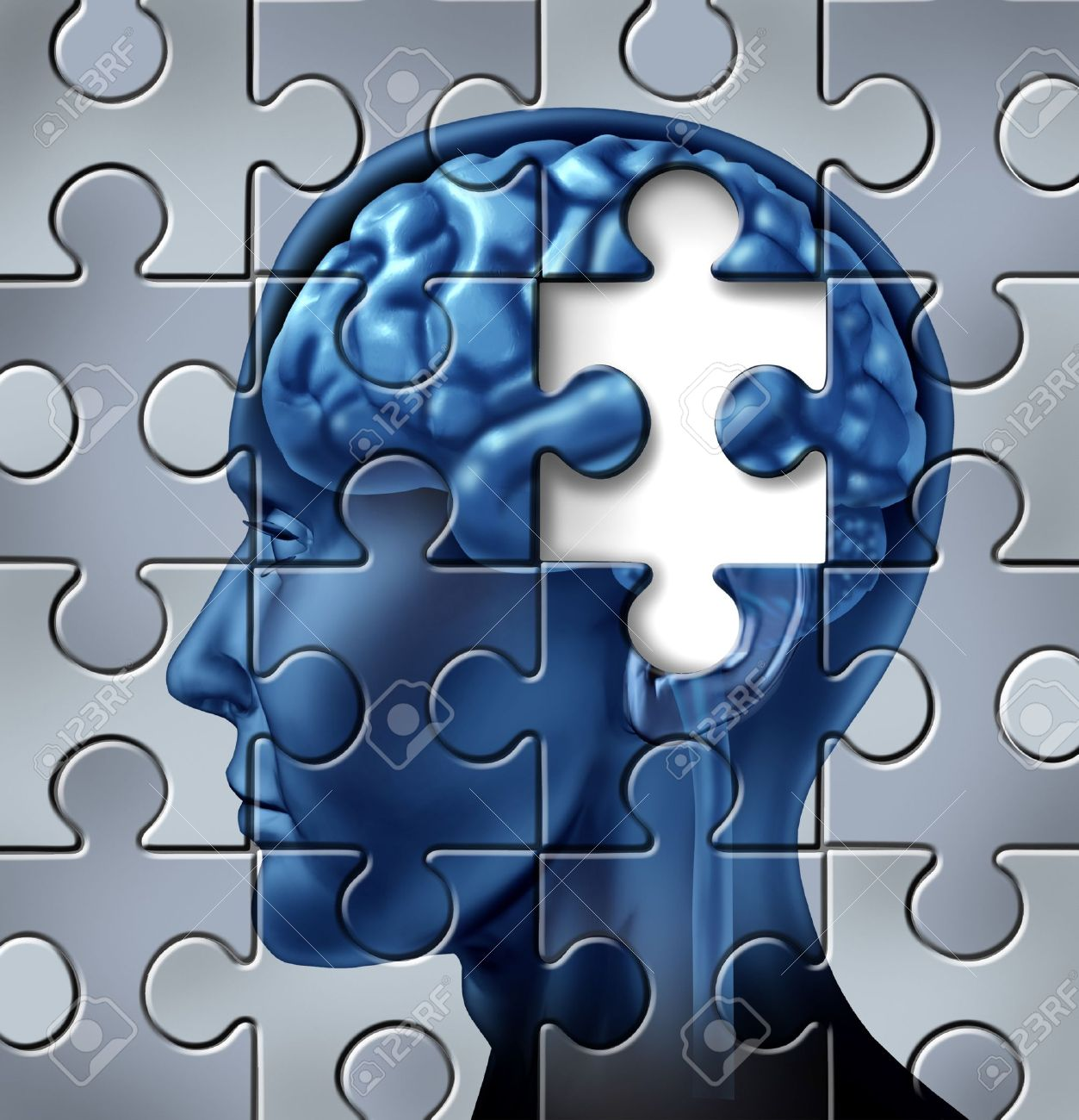 Memory loss and alzheimer Stock Photo - 14119236