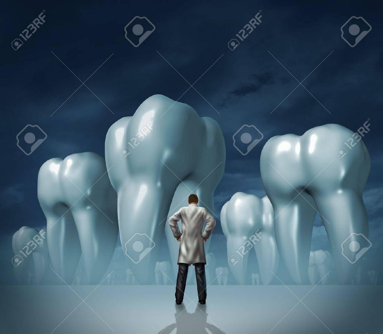 Dentista Y Cuidado Dental Médico Símbolo Salud Dental De La Higiene ...